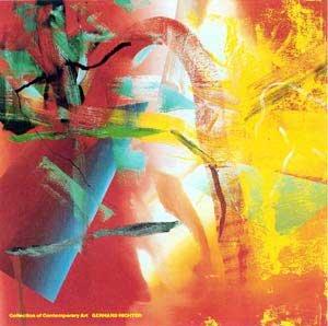Kunstdruck/Poster: Gerhard Richter Merlin - hochwertiger Druck, Bild, Kunstposter, 117x117 cm