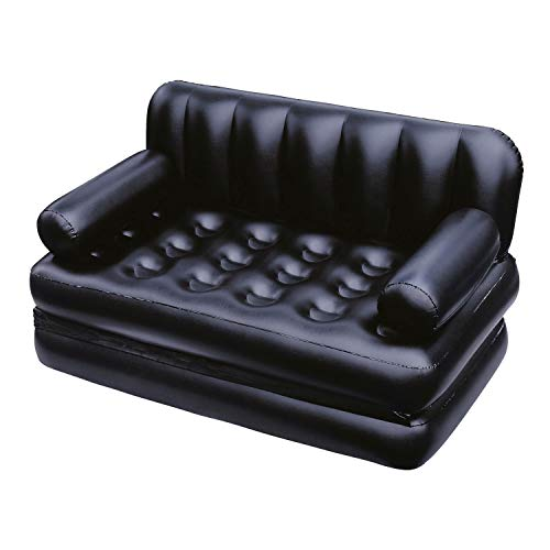 Bestway 75064 - Sofá Hinchable Extra Confortable Chaise Lounger 188x152x64 cm