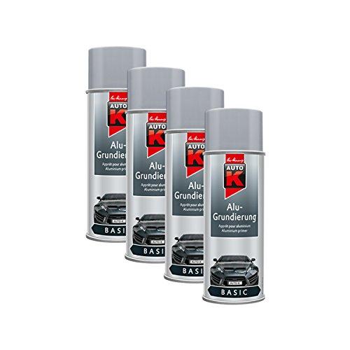 Kwasny 4X 233 060 Auto-K Basic Alu-Grundierung Grau Spray 400ml