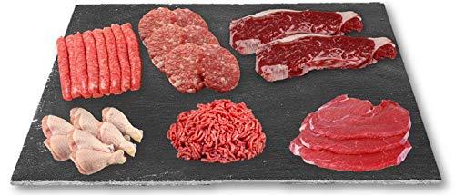 Lote de Carne fresca de Alta Calidad IBERCARNS. Packs de Carne Tradicional, Familiar, Barbacoa y Gourmet (Tradicional Básico, 3 kg)