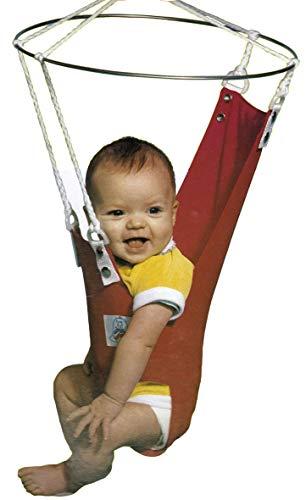 Merry Muscles Ergonomic Jumper Exerciser Baby Bouncer -Blue