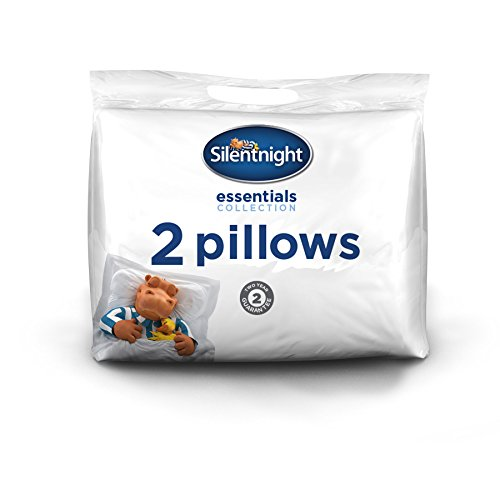 Silentnight Essentials Collection Plus Pillow, White
