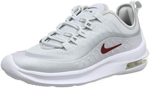 Nike Damen Air Max Axis Laufschuhe, Mehrfarbig (Pure Platinum/Red Crush/Blackened Blue 003), 38 EU