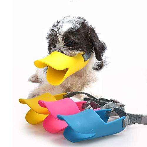N / A Hund Entenschnabel Abdeckung, Haustier Silikon Schnauze, Silikon Hund Maul, Anti-Biss, Anti-Fütterung, Schützen Die Sicherheit Von Menschen Und Tieren(Size:Klein,Color:rot)
