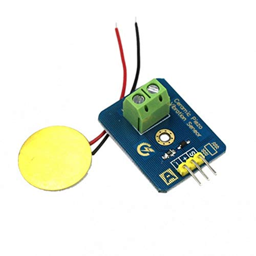 Ceramic Piezo Vibration Sensor Analog Output Electronic Components Supplies Sensors for Arduino Compatible with UNO R3 Module