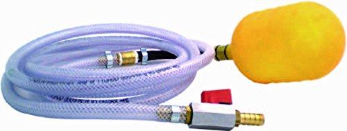 AquaForte - Bouchon Gonflable 200-320 mm (1,5m Schlauch) Transparent