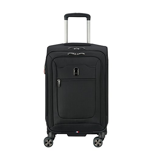DELSEY Paris Hyperglide 21' Expandable Spinner Carry-on, Black