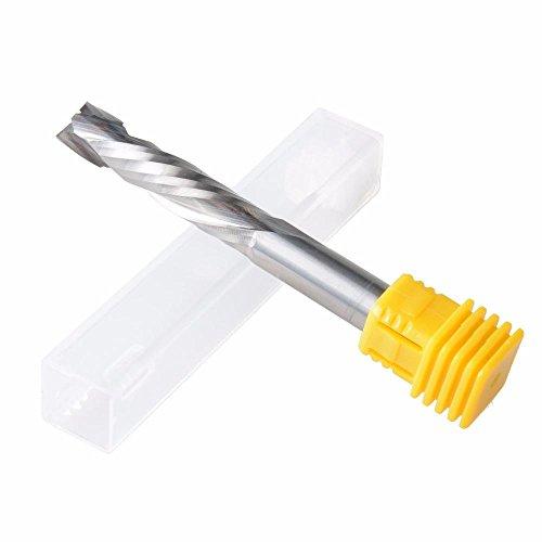 EU_HOZLY 10X42mm UP & Down Cut Due Flauti a Spirale Carburo Fresa Utensili per Fresa CNC Router Compressione Legno End Mill Cutter Bit