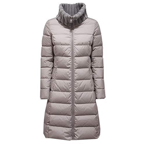 Herno 1308AC Giubbotto Lungo Donna Piumino Grey Jacket Women [40]