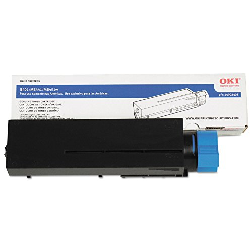 Price comparison product image OKI Data 44992405 Toner Cartridge (Black) in Retail Packaging
