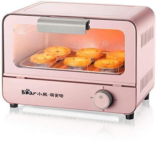 CattleBie Brotbackautomaten, Mini Elektro-Ofen Haus 6 Liter Kapazität Backen Kleiner Ofen Kuchen-Backen-Maschine