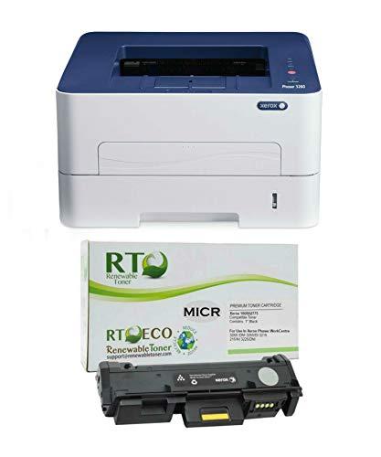 Renewable Toner 3260DNI MICR Printer Bundle...