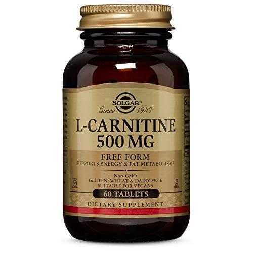 Solgar L-Carnitina Comprimidos de 500 mg - Envase de 60