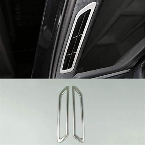 Car Styling Dashboard Air Vents Adhesivo decorativo marco para Audi A6 C8 2019 Accesorios interiores consola salida de aire cubierta Trim (un pilar de aire)