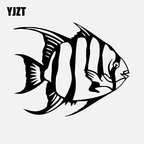 16CM*13CM Car Sticker Spade Fish Sea Life Nemo Vinyl Decal Decor Art Black/Silver C24-0552 Silver