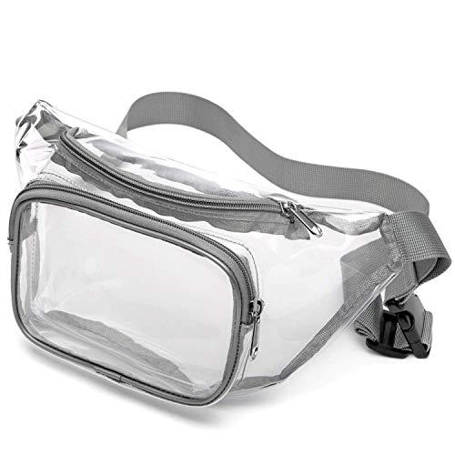 SPEEDEVE Bolsa Cintura Transparente Resistente