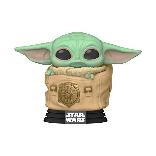 Funko- Pop Star Wars The Mandalorian-Child w/Bag Figura coleccionable, Multicolor (50963)