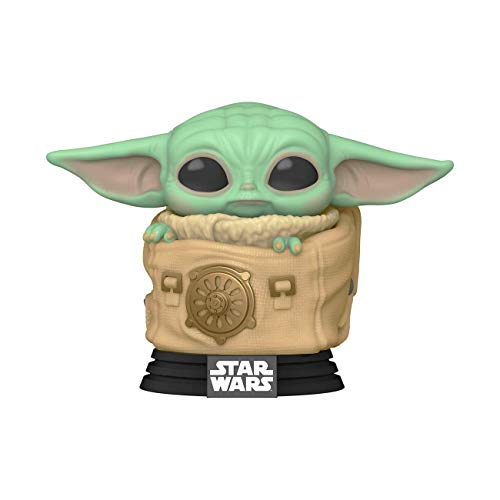 Funko-  Pop Star Wars: The Mandalorian- Child w/Bag Figura Coleccionable,  Multicolor (50963)