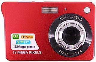 Eleganantstunning Tragbare 18 Megapixel Digital Videokamera, 6,9 cm (2,7 Zoll) TFT Display, Digital Zoom Videokamera rot rot