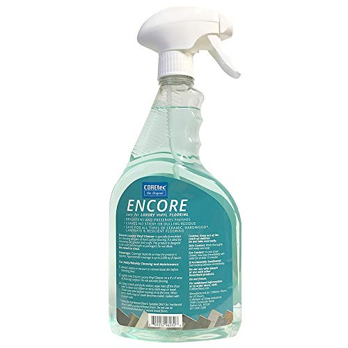 COREtec ENCORE 03Z76 Floor Cleaner Care for Luxury Vinyl Flooring Ready To Use 32oz Spray Bottle