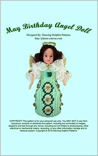 May Birthday Angel Doll: Plastic Canvas Pattern (English Edition)