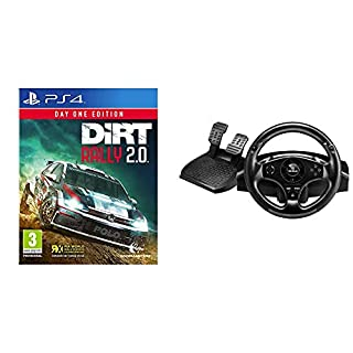 Codemasters - Dirt Rally 2.0 Day One Edition (PlayStation 4) + Thrustmaster T80 RW GT - Volante PS4/ PS3, Licencia Oficial Playstation (B07PJXPL59)   Amazon price tracker / tracking, Amazon price history charts, Amazon price watches, Amazon price drop alerts