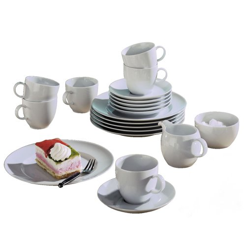Thomas 10850-590003-18218 Kaffeeservice 20-teilig Sunny Day weiss