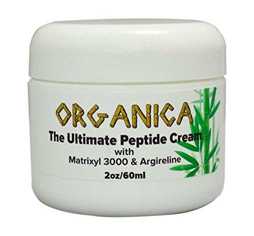 THE Ultimate Peptide Cream,hydrating, Repair, Wrinkle Cream,post Peel, 10% Argireline,matrixyl 3000,coenzyme Q10, 2 Oz