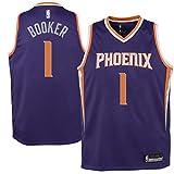 Devin Booker Phoenix Suns #1 Purple Youth Road Swingman Jersey (X-Large 18/20)
