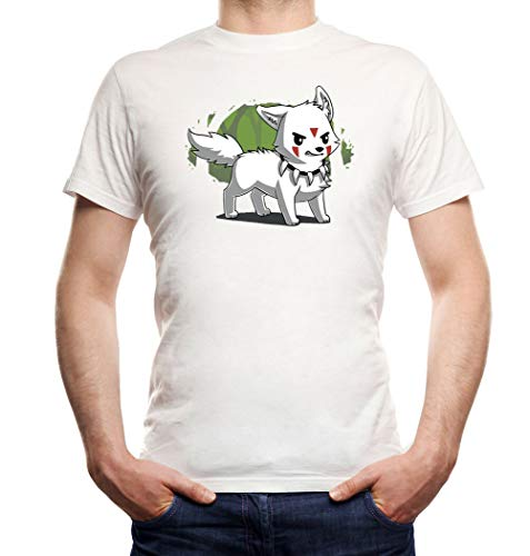 Forest Dog T-shirt Boys White | Princess Bubblegum, dog