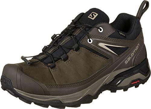 SALOMON Herren Shoes X Ultra 3 LTR GTX Bunge Fitnessschuhe, Schwarz/Braun/Khaki (Delicioso Bungee Cord Vintage Kaki 000), 44 2/3 EU