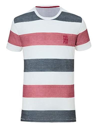 "'Camiseta infantil del FC Bayern Múnich + Gratis Pegatinas ""München Forever, manga, camiseta, FCB, camiseta, weiß/navy/rot, 128"