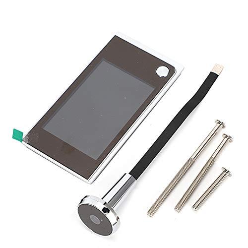 3,5 pulgadas LCD digital 120 grados mirilla timbre visual inalámbrico puerta electrónica visor de video cámara exterior para seguridad en el hogar