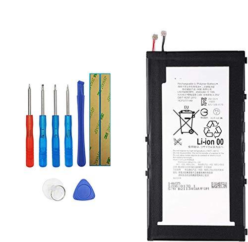 sony xperia z3 tablet compact Upplus E-YIIVIIL LIS1569ERPC Batteria di ricambio compatibile per Sony Xperia Z3 Tablet Xperia Z3 Compact SGP611 SGP612 SGP621 SGP641 SOT22 1286-0138 1ICP3/77/149 1286-0138 con Tools Kit