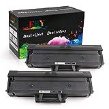 EBY MLT-D101S Cartucho de Tóner Compatible con Samsung ML-2160 ML-2160W ML-2165W ML-2168W SCX-3400F SCX-3405F SF-760P SCX-3401 ML-2161 ML-2162 SCX-3400 (2pcs)