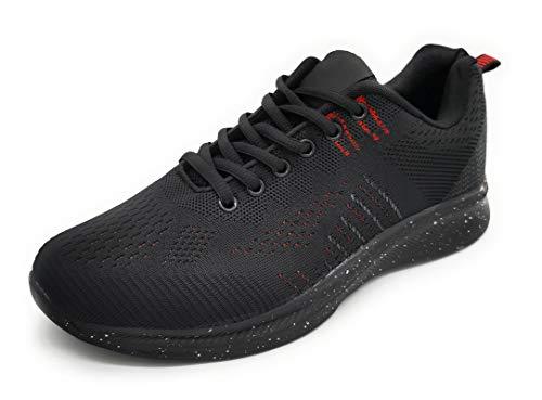 Zapatillas Deportivas de Hombre Muy Ligero Transpirable Deportivos para Correr Caminar Trabajar