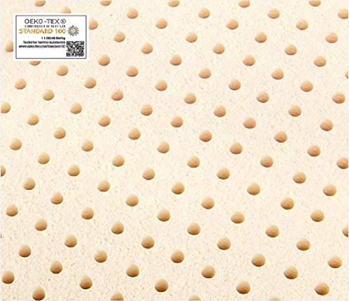 """TWINXL Original Talalay Latex Mattress Pad Toppers: US Made 2"""", 3"""", All Densities (3"""" Thick, 44 ILD Firm)"""