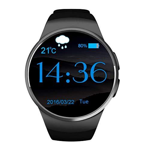 LYDB LYDB Uhren Bluetooth Smart Watch 1,3-Zoll-IPS-LCD-Telefon, Unterstützung Anti-Lost/Pulsmesser/Schrittzähler/Schlaf-Monitor/Sitz erinnern/GSM (schwarz)