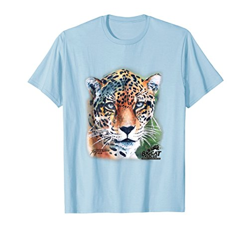 Manny Jaguar Watercolor Tee Shirt