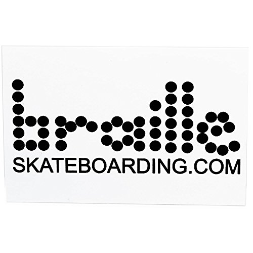 Braille Skateboarding Classic Sticker - 1 Sticker