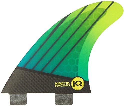 Kinetic Trailers Fx2 Carbotune - Quillas para Tabla de Surf, Talla M/L