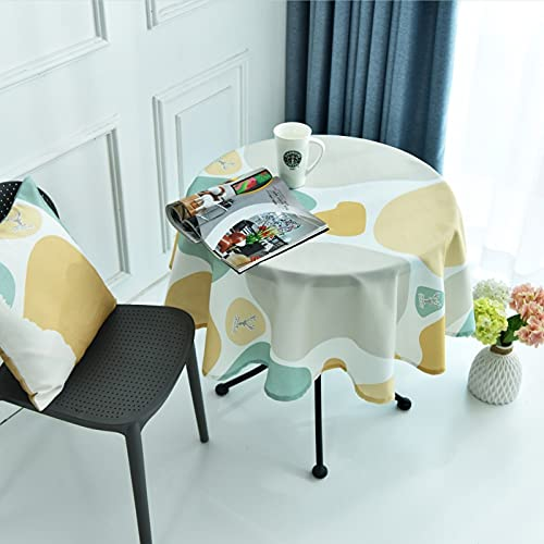 sans_marque Mantel de mesa, cubierta de mesa, mantel simple, mantel de mesa, tapete de mesa adecuado para decoración de cocina casera 120cm