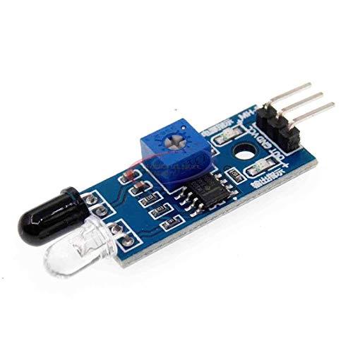 Reland Sun 5 unids IR barrera infrarroja módulo sensor obstáculo evitación para Arduino inteligente coche robot