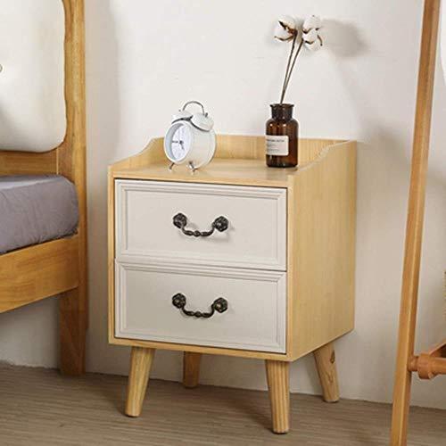 TXXM® Herstellung Nachttisch Massivholzschubladenschrank mit starken Tragfähigkeits for Schlafzimmer, Studie, Etc. Praktische Möbel (Color : B)