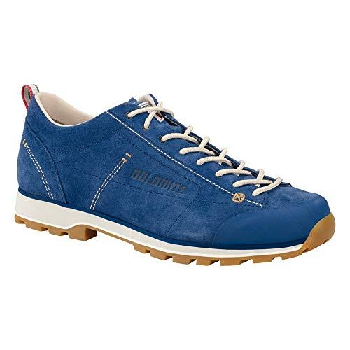 Dolomite Unisex-Erwachsene Zapato Cinquantaquattro Low Schuhe, Blauer Kobalt/Canapa-Beige, 43 1/3EU