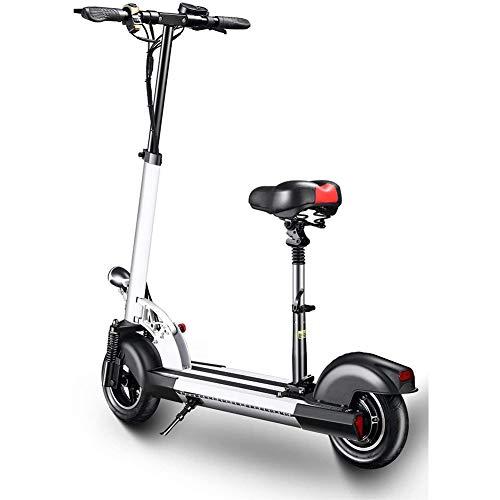 Scooter Elettrico per Adulti Pieghevole 500W Motore - Velocità 25 Km/H - Chilometraggio massimo 30 Km - Batteria 36V12ah