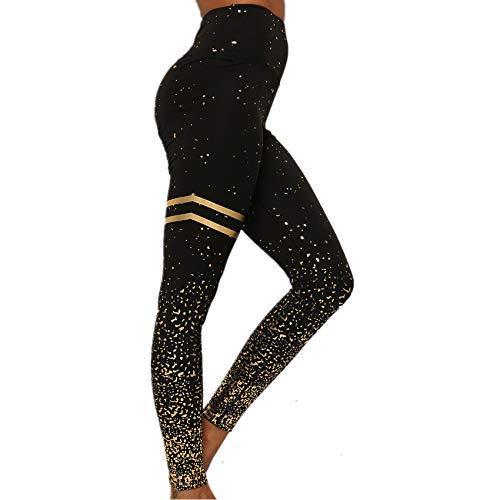 Hhckhxww Deportes De Cintura Alta De Doble Bucle Estampado En Caliente Y Pantalones De Yoga De Fitness De Plata Caliente Leggings Pantalones De Mujer
