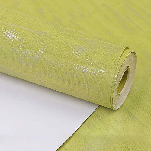 GSHWJS Nordisches Tapetenschlafzimmerwohnzimmer einfaches modernes blaues warmes Romantisches Ausgangskleine frische Normallacktapete Hintergrund (Color : Yellow Cream)