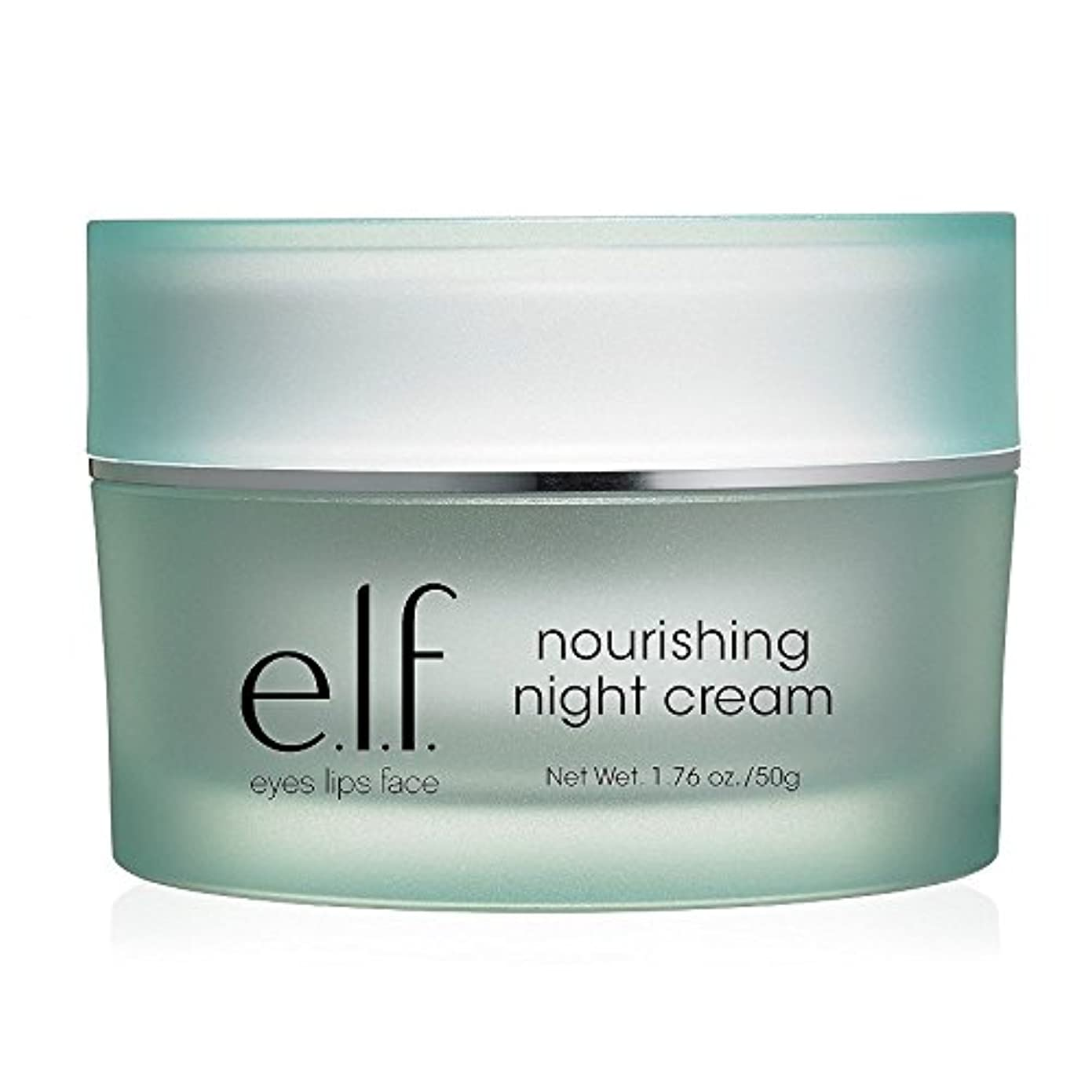 因子アブストラクト開いた(6 Pack) e.l.f. Nourishing Night Cream (並行輸入品)