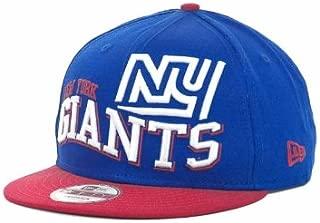 New York Giants Wave Snap Blue/Red Adjustable Snapback Hat/Cap